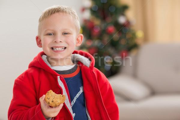 Festive little boy smiling at camera  Stock photo © wavebreak_media