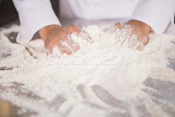 Бейкер борьбе кухне хлебобулочные Сток-фото © wavebreak_media