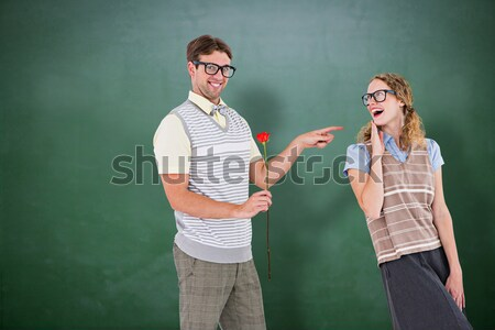 Casual business colleagues in an argument Stock photo © wavebreak_media