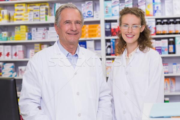 глядя камеры аптека человека медицинской больницу Сток-фото © wavebreak_media