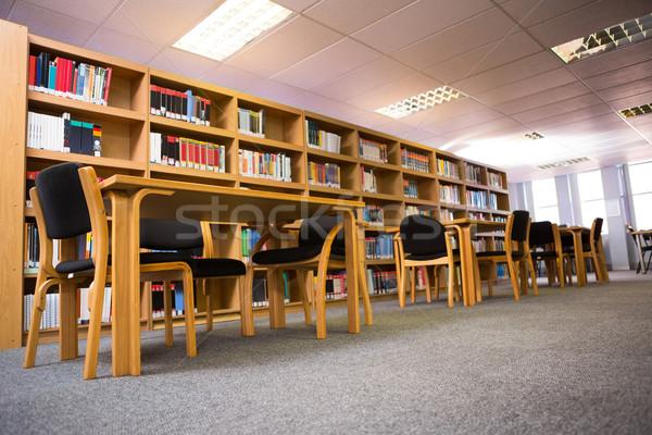 Boeken boekenplank bibliotheek universiteit boek school Stockfoto © wavebreak_media