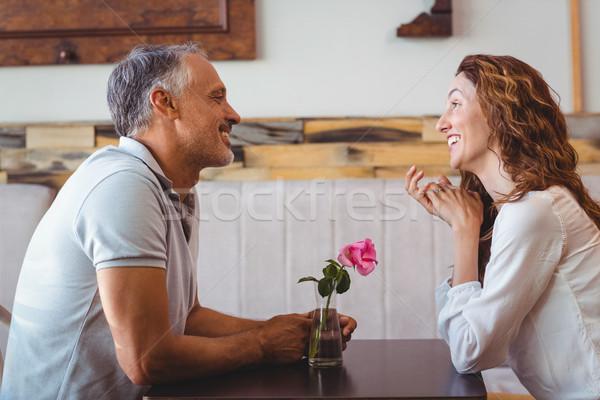 Cute couple on a date Stock photo © wavebreak_media