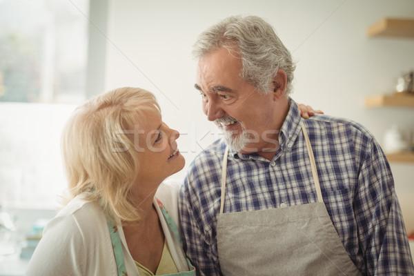 Senior couple looking at each other Stock photo © wavebreak_media