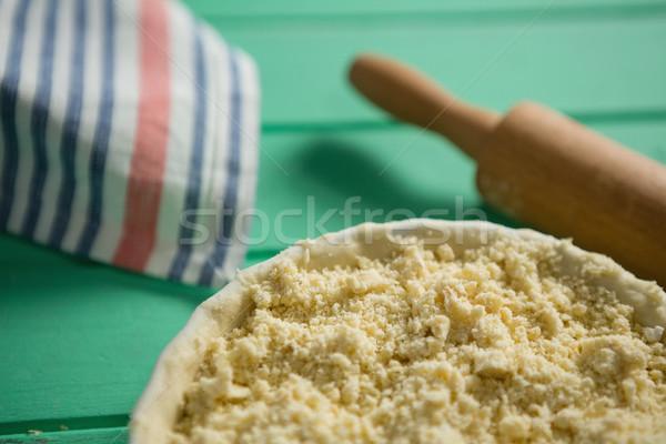 食品 麺棒 表 木材 ストックフォト © wavebreak_media