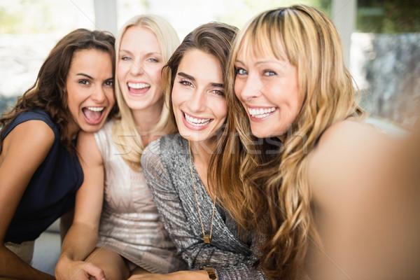 Group of beautiful women having fun Stock photo © wavebreak_media