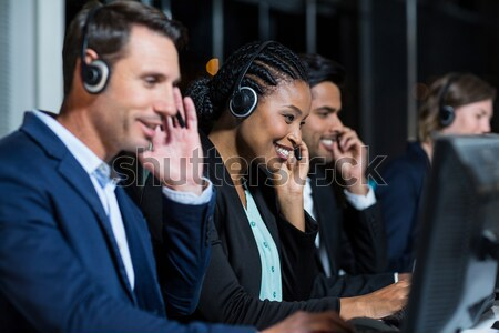 Koledzy biuro portret biznesmen Zdjęcia stock © wavebreak_media