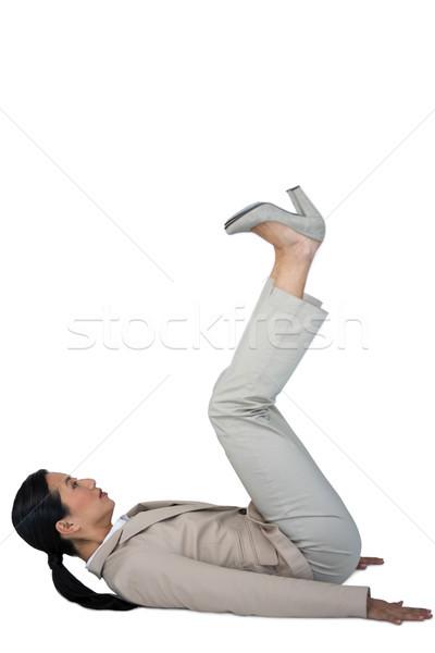 Businesswoman performing exercise Stock photo © wavebreak_media