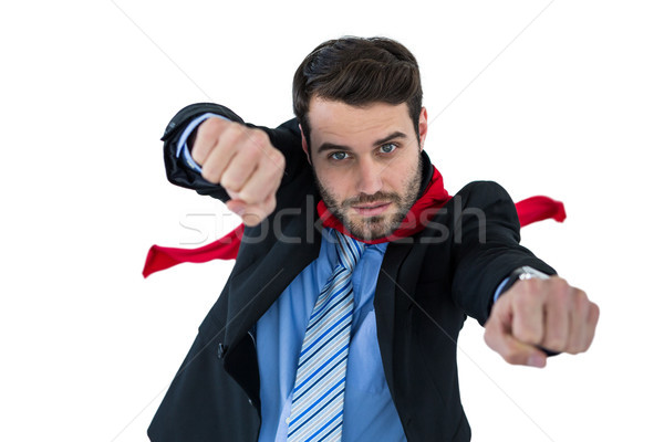 портрет бизнесмен белый человека Футбол Сток-фото © wavebreak_media