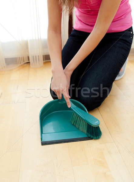 Close-up of a woman doing housework Stock photo © wavebreak_media