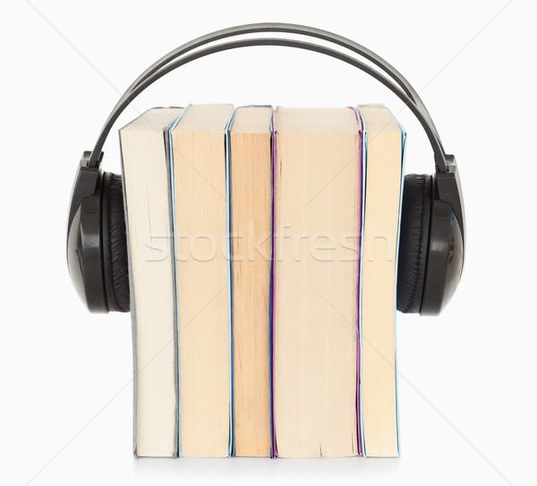 Interpretacja biały muzyki papieru technologii tle Zdjęcia stock © wavebreak_media