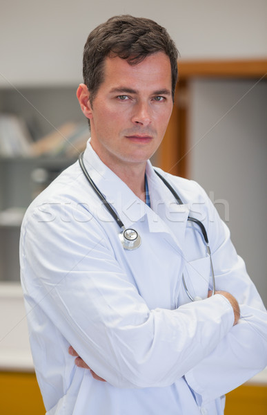 Sérieux médecin hôpital réception médicaux Photo stock © wavebreak_media