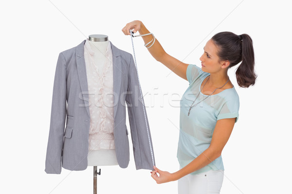 Mode designer blazer douille mannequin Photo stock © wavebreak_media