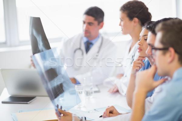 Medical team analyzing Xrays Stock photo © wavebreak_media