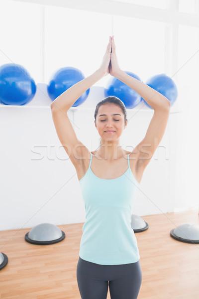 Deportivo mujer manos fitness estudio hermosa Foto stock © wavebreak_media