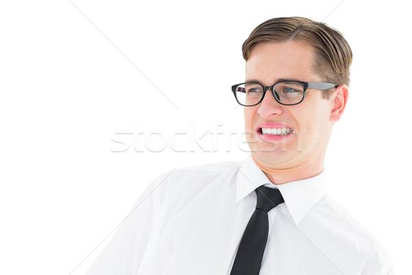 Jonge naar walging witte business Stockfoto © wavebreak_media