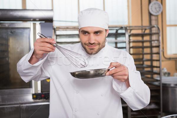 Souriant Baker cuisine boulangerie affaires Photo stock © wavebreak_media