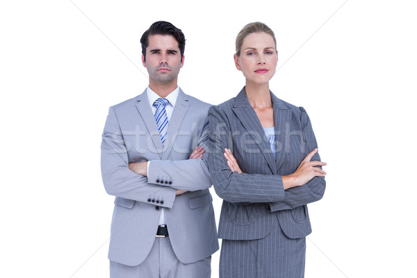Business people with arms crossed looking at camera Stock photo © wavebreak_media
