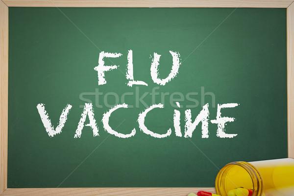 Imagen gripe vacuna médicos medicina Foto stock © wavebreak_media
