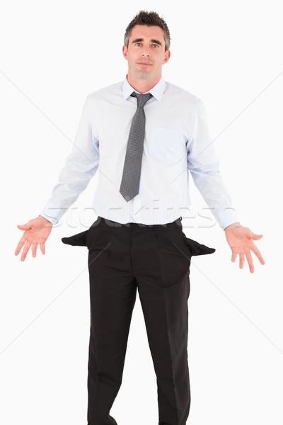 Retrato empresário branco negócio dinheiro trabalhar Foto stock © wavebreak_media