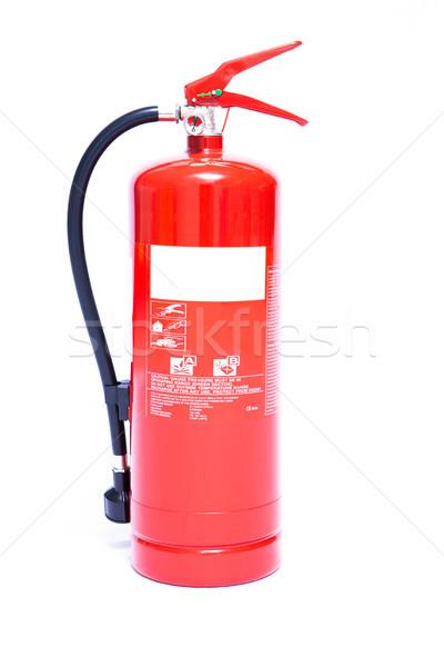Nagy piros hab tűzoltó készülék Stock fotó © wavebreak_media