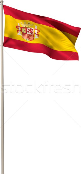 Digitally generated spain national flag Stock photo © wavebreak_media