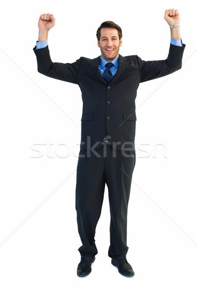 портрет бизнесмен человека костюм рубашку Сток-фото © wavebreak_media