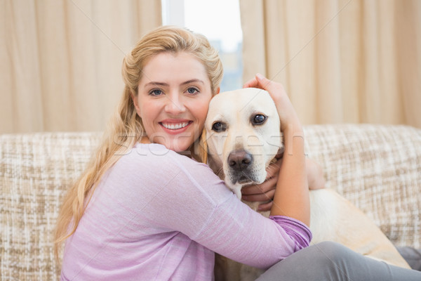 Zdjęcia stock: Piękna · kanapie · domowych · psa · domu