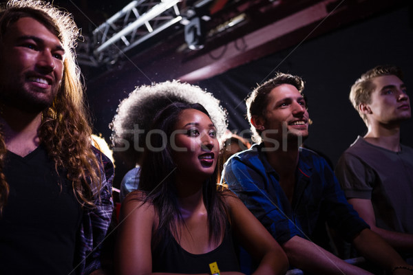 Group of friends watching a rock concert Stock photo © wavebreak_media