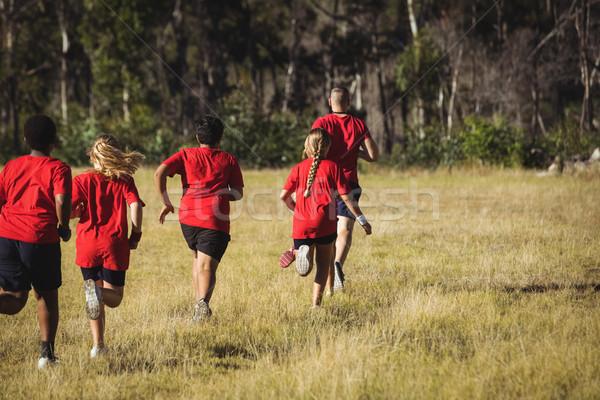 Ausbilder Ausbildung Kinder Boot Lager Stock foto © wavebreak_media
