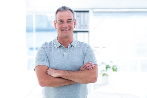портрет массажист Постоянный Spa человека Сток-фото © wavebreak_media