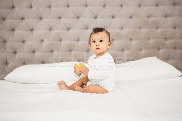 Cute baby playing with ball Stock photo © wavebreak_media
