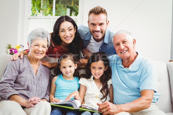 Portrait of happy family  Stock photo © wavebreak_media