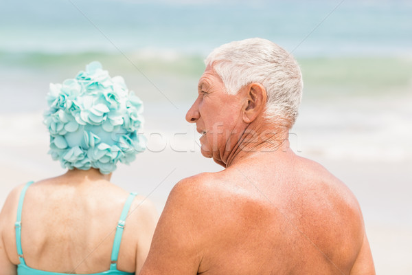 Senior couple in beachwear Stock photo © wavebreak_media