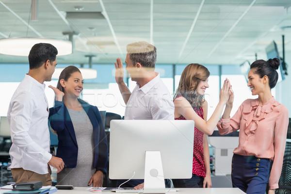 Iş arkadaşları toplantı büro ofis Stok fotoğraf © wavebreak_media