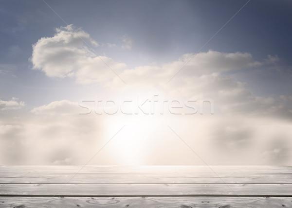 Floorboards in the sky Stock photo © wavebreak_media