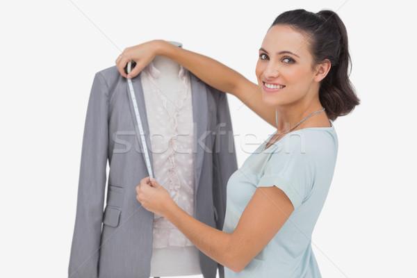 ファッション デザイナー ブレザー 肖像 女性 ストックフォト © wavebreak_media