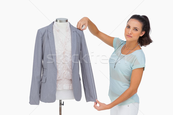 Designer blazer douille mannequin blanche Photo stock © wavebreak_media
