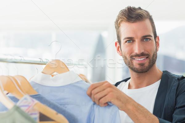 красивый мужчины клиентов портрет Сток-фото © wavebreak_media
