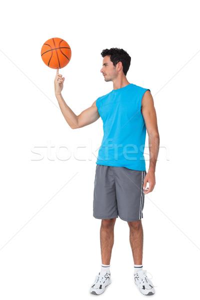 мяча изолированный белый спорт Сток-фото © wavebreak_media