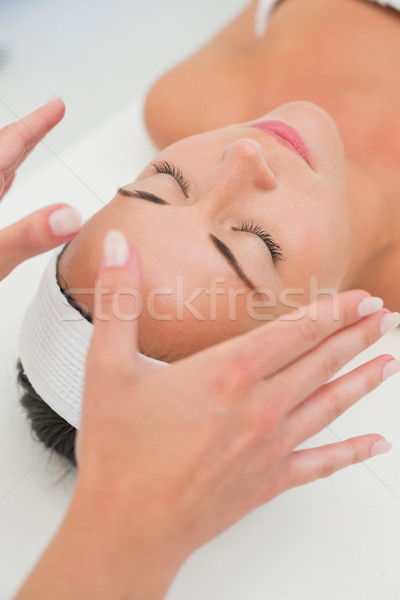 Pacífico morena reiki terapia spa mujer Foto stock © wavebreak_media