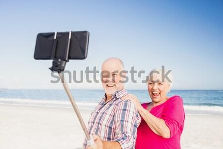 Nieszczęśliwy para posiedzenia dwa złamane serce Zdjęcia stock © wavebreak_media