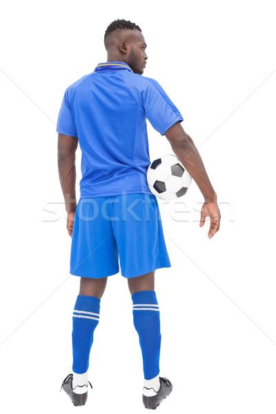 вид сзади серьезный футболист белый спорт футбола Сток-фото © wavebreak_media