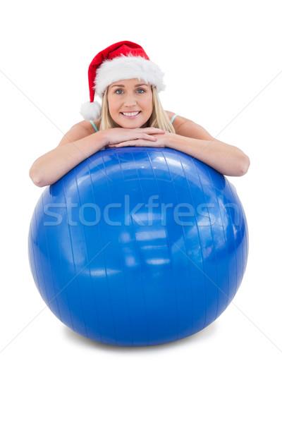 Montare esercizio palla Foto d'archivio © wavebreak_media