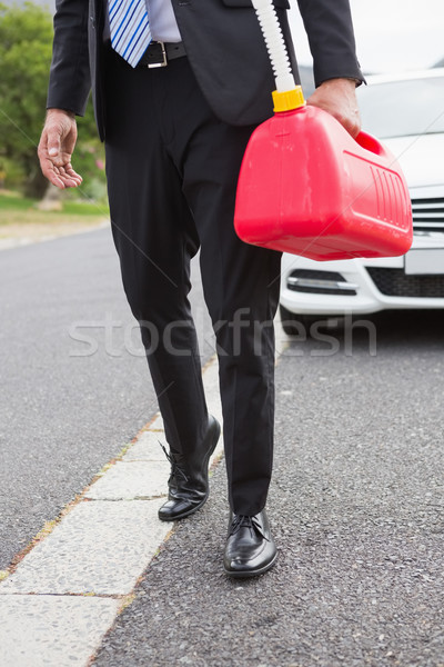 Man bringing petrol canister after broken down  Stock photo © wavebreak_media