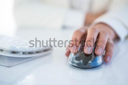 врач набрав клавиатура с помощью мыши медицинской служба Сток-фото © wavebreak_media