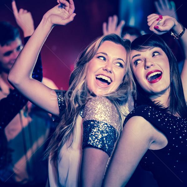 Happy friends having fun together Stock photo © wavebreak_media