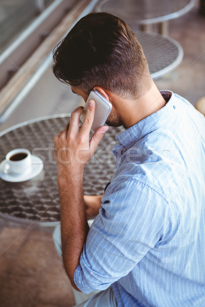 Attentive businessman on the phone Stock photo © wavebreak_media