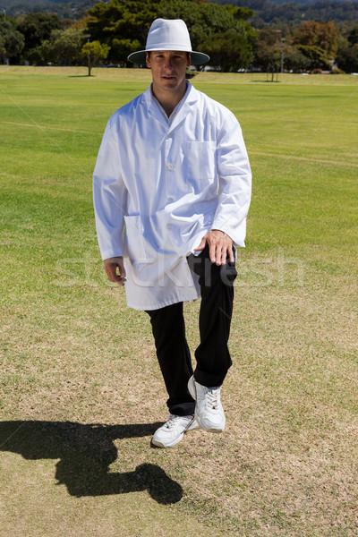 портрет крикет ногу до свидания Сток-фото © wavebreak_media