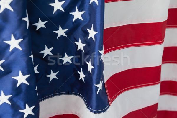 Primo piano bandiera americana full frame bandiera star libertà Foto d'archivio © wavebreak_media