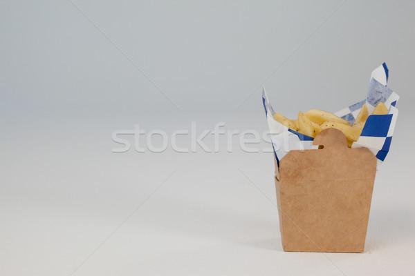французский жареный чипов далеко контейнера Сток-фото © wavebreak_media